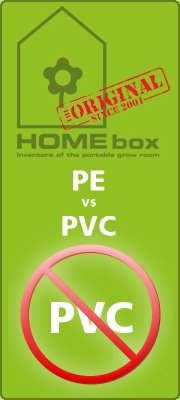 Homebox Growbox PE Against PVC